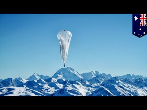 Google Project Loon: internet giant to test Wi-Fi balloons in Australia