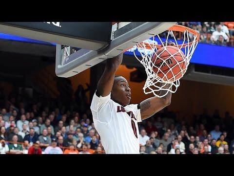 Michigan State vs. Louisville: Terry Rozier dunk