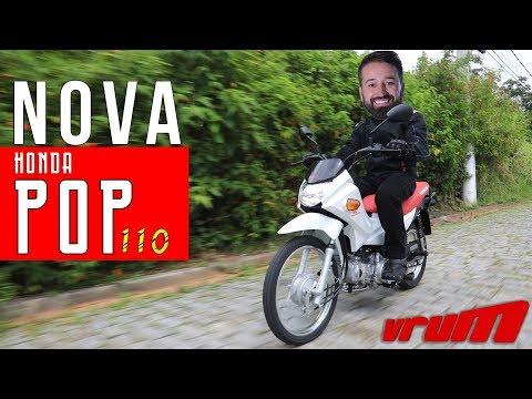 HONDA POP 110i 2019: ACELERAMOS A MOTO MAIS VENDIDA DO ANO/ Vrum Brasília