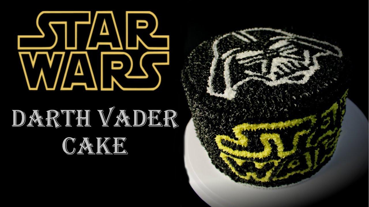 How To Make A Darth Vader Birthday Cake