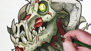 Character Design Session: Undead Dragon