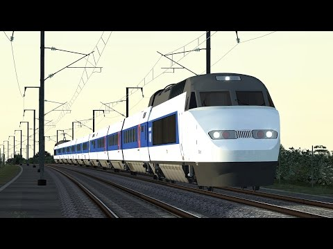Train Simulator 2016 TGV Paris Montparnasse - Saint-Pierre-des-Corps