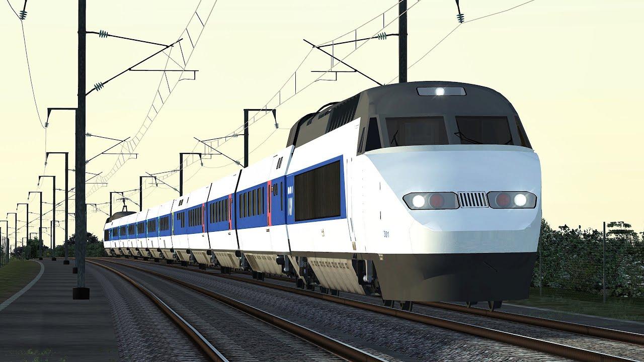 train simulator 2016 tgv paris montparnasse saint pie. Black Bedroom Furniture Sets. Home Design Ideas