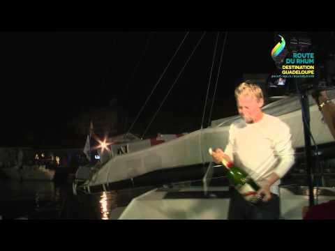 Alex Pella (Tales 2 - Santander) premier Class40 en Guadeloupe