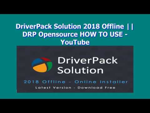 download driverpack solution offline 2018