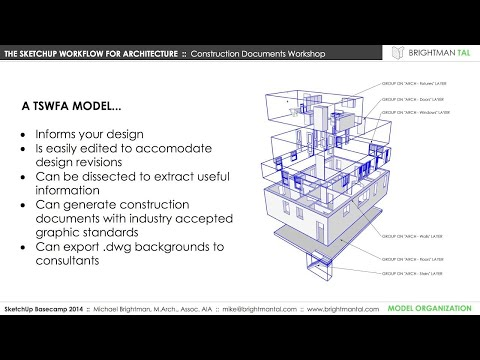 3D Basecamp 2014: The SketchUp Workflow for Architecture, Mi