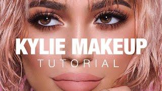 Kylie Jenner Makeup Tutorial   Peachy Smokey Eye
