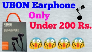 Earphone under INR 200 RS.[hindi]
