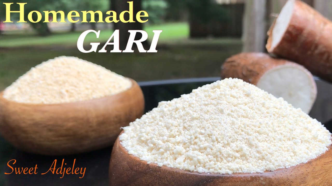 How To Make Authentic Gari At Home