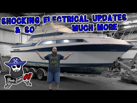 See the Shocking Yacht Electrical Updates from the CAR WIZARD & many updates from the cabin!