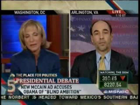 Andrea Mitchell blasts McCain's adviser over smear...