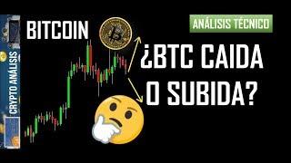 Bitcoin ¿CAIDA O SUBIDA?   Btc/Criptomonedas TRADING ANÁLISIS/NOTICIAS
