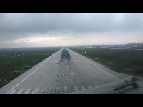 Kuwait Airways landing in Amman - Runway 26 L