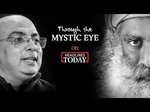 Tarun Tahiliani with Sadhguru   Through the Mystic Eye