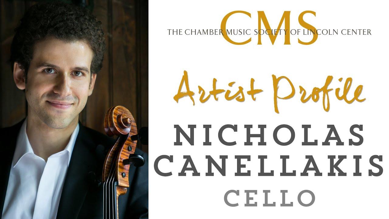 Nicholas Canellakis Artist Profile - August 2012