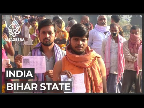Bihar state conducts India's first elections amid COVID-19