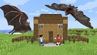 Murcielagos Gigantes En Los Cielos De Minecraft - Mg 4 Cap 23 - Serie De Minecraft