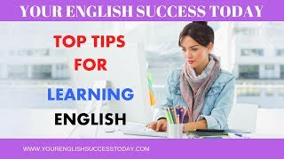 Top Tips for Learning English (+ PDF Download)