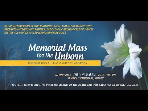 Memorial Mass for the Unborn - 2018