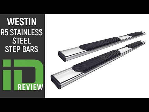 Westin R5 Stainless Steel Step Bars Review - YouTube