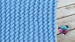 Point tricot en relief super chaud ! pas à pas