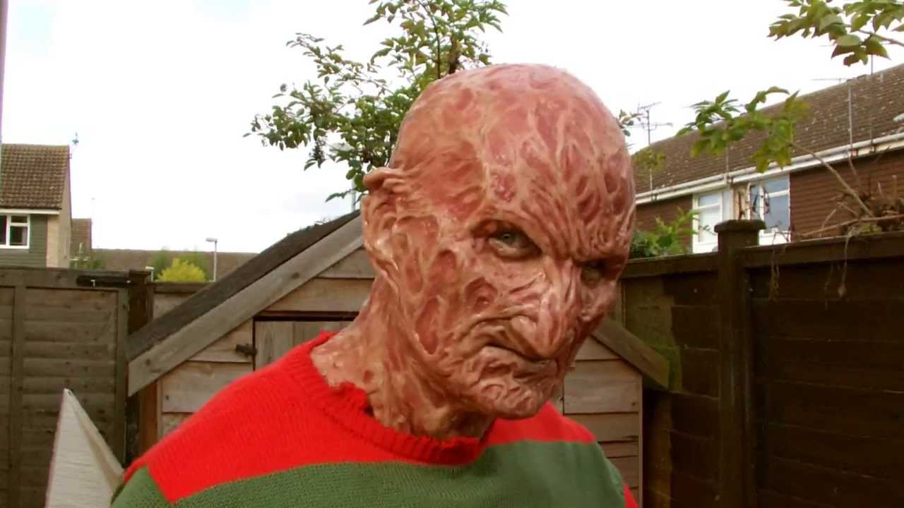 & NEW Part 4 (torched 4) Freddy Krueger Silicone Mask - YouTube