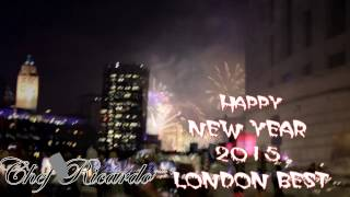 London New Year's Eve Fireworks Display Best In The World 2015