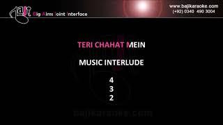 Teri Chahat Mein - Video Karaoke - Hawas - Babul Supriyo - by Baji Karaoke