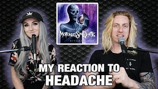 Metal Drummer Reacts: Headache by Motionless In White