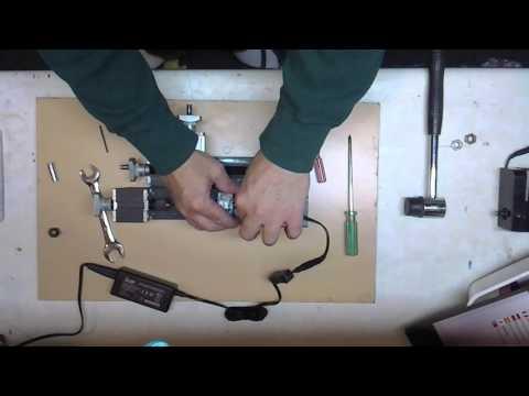 Mini Metal Lathe first use The First tool Shenzhen Zhouyu Z20002M