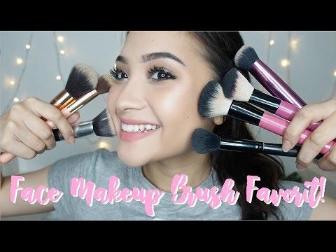 Makeup Brush Muka Favorite! // Murah dan Gampang Dicari!