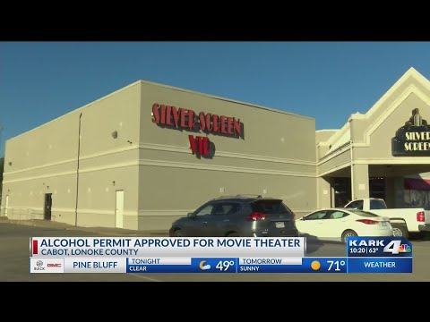 Alcohol Permit Approved for Movie Theater