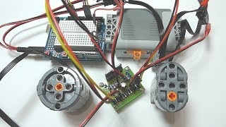 Arduino Controlling LEGO Power Functions Motor Part 1: Wired Control