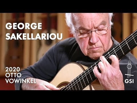 "Francisco Tárrega's ""Endecha Y Oremus"" Played By George Sakellariou On A 2020 Otto Vowinkel"