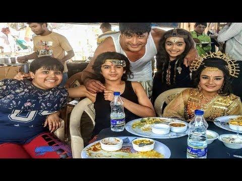 Saneswaruni Divya Charitra Serial Cast Off Screen Masti - 11th December 2017