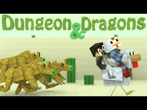 Dungeons and Dragons Mod: Minecraft Dungeon Mobs Mod Showcase - Soul Suckers!