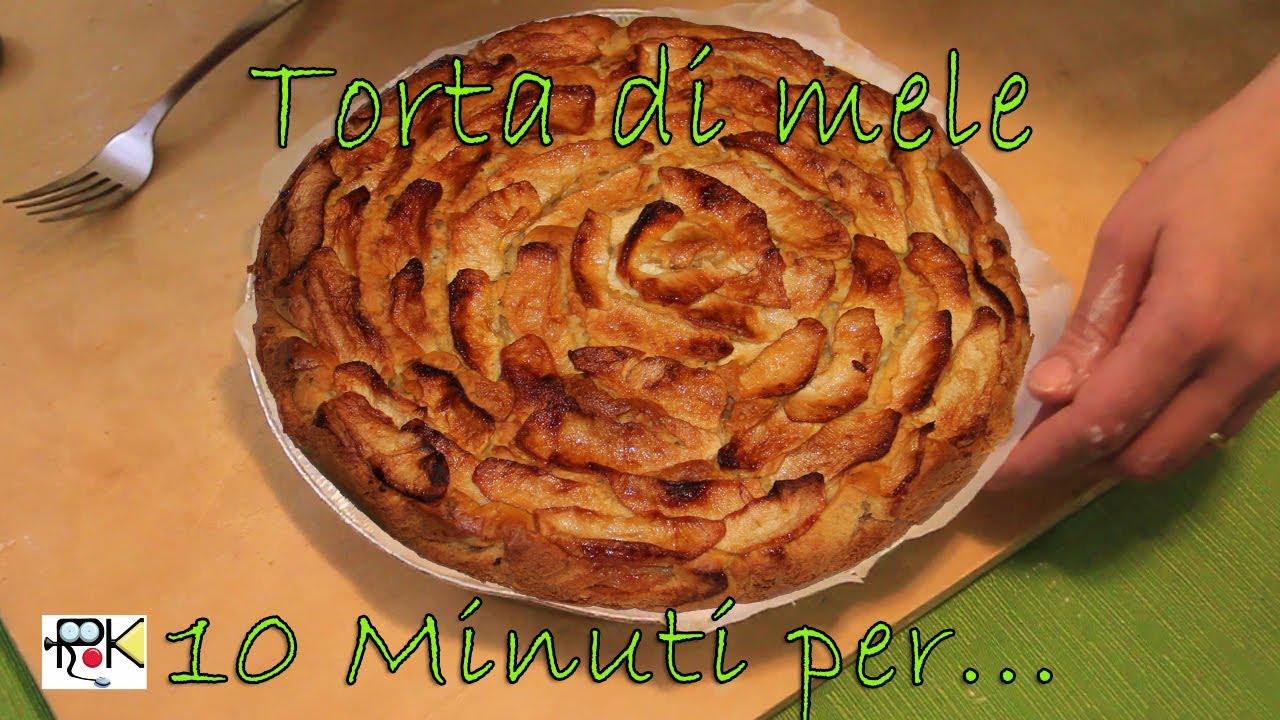 10 minuti per... Cucinare torta di mele. Ricette Bimby. - YouTube