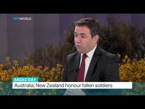 Interview with Altay Atli from Bogazici University on Anzac Day