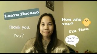 Learn Ilocano: Say How Are You? And I