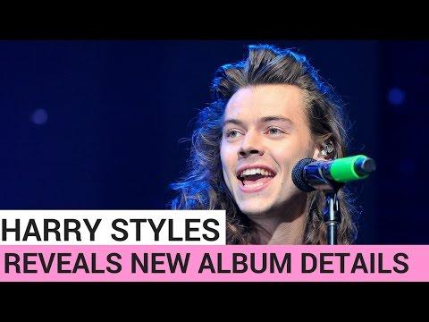 Harry Styles Reveals New Album Details