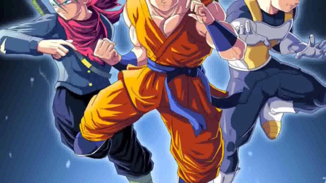 Dragon Ball Super - Trunks New Super Saiyan Form - YouTube