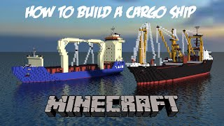 How to build a Cargo Ship in Minecraft! Part 1- The Bow