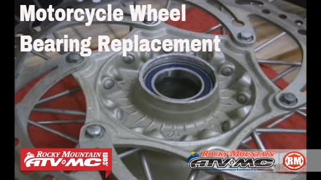 Motorcycle Wheel Bearing Replacement - YouTube