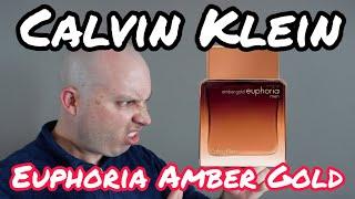 Calvin Klein Euphoria Amber Gold - WHAAAAAAT???