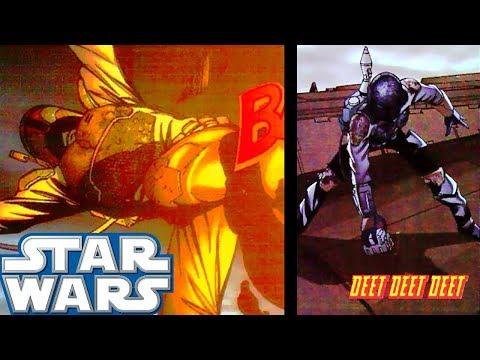 Boba Fett DIES By His Own Grenade - Star Wars Infinities Explained