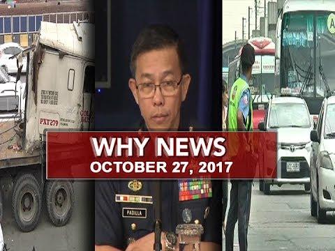 UNTV: Why News (October 27, 2017)