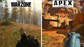 Call of Duty: Warzone Vs Apex Legends -  Graphics & Gameplay Comparison