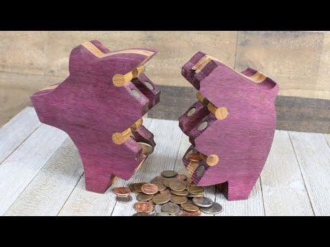 Broken Piggy Bank Project