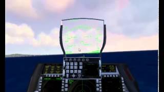 Jetfighter 5 Flugzeugträgerlandung [GER]