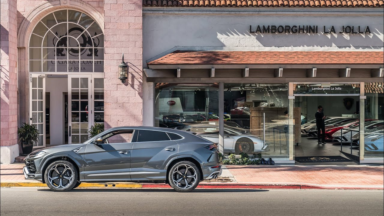 Lamborghini Urus: The First Super SUV Delivery In California